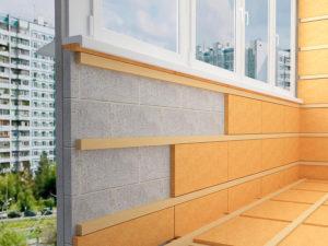 отделка и утепление балконов и лоджий в сургуте